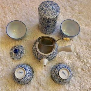 Porcelain tea service